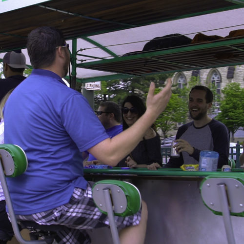 Detroit Cycle Pub tours!