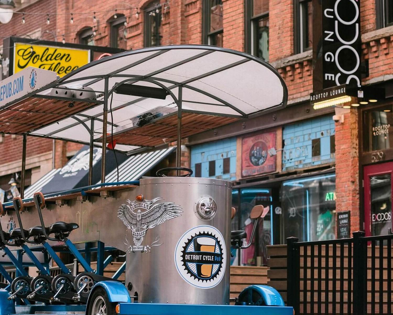 Downtown Detroit Pub Cycle